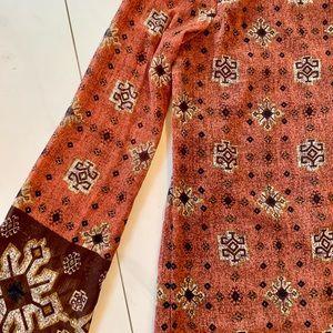 Trendsetter patterned shift / tunic dress Large